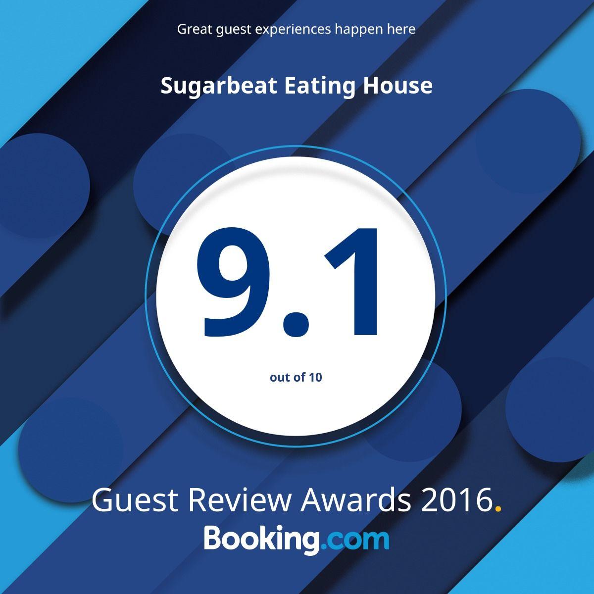 Booking.com 9.1 score